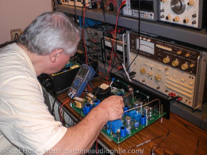 Image 2 Lamm fine tuning the LP2 phono_