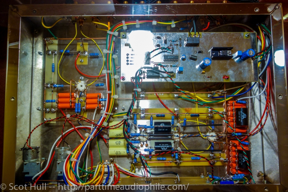 inner looks of the preamp