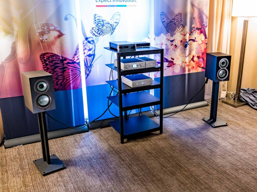 AXPONA 2016: Fires burn and cauldrons bubble at ELAC and Audio Alchemy