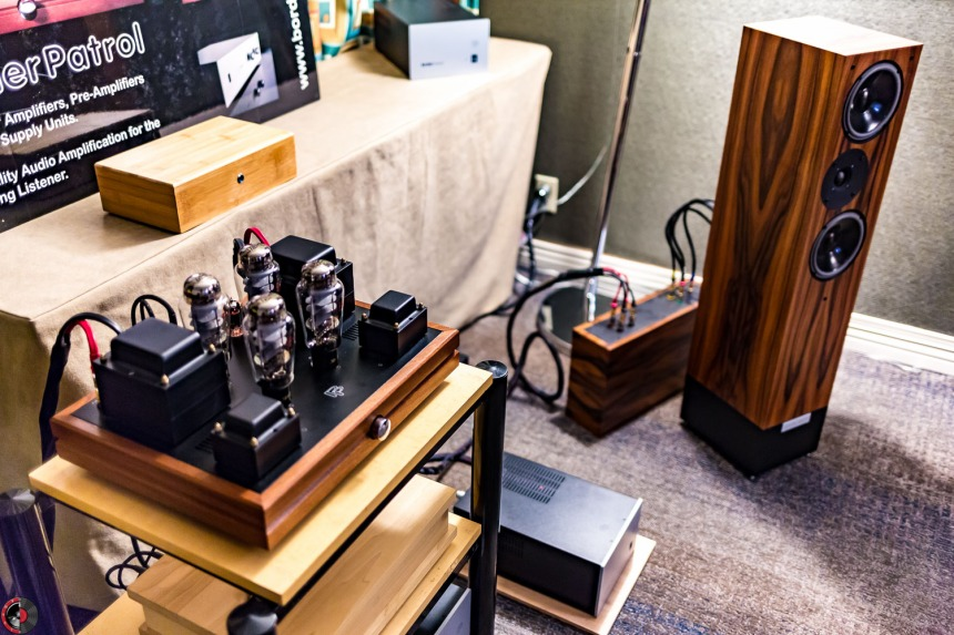 Capital Audiofest 2016: BorderPatrol and Triode Wire Labs, home away from home