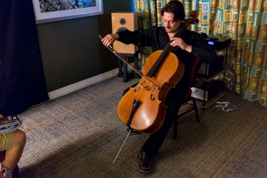 Capital Audiofest 2016: Audio Note UK, Pure Cello with Vincent Bélanger