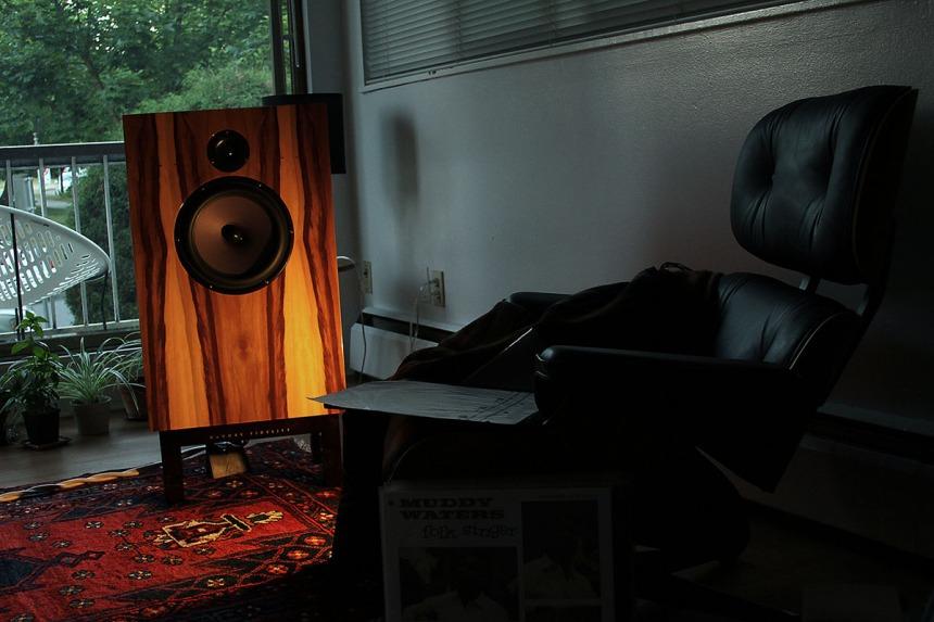 John DeVore talks larger drivers and experimental speaker designs