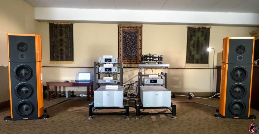 TAVES 2016: DVL Audio shows Viola Audio Labs and Magico