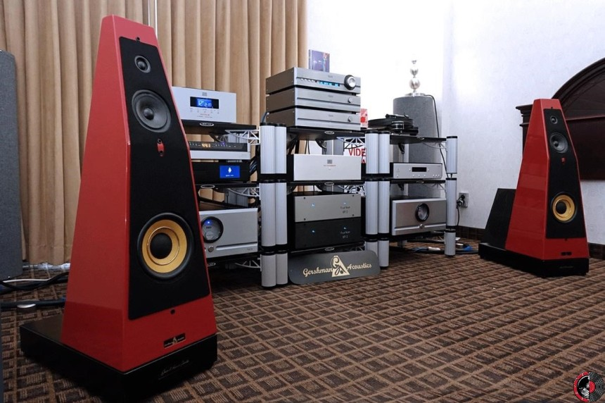 TAVES 2016: Toronto Home of Audiophiles shows Pass Labs / Gershman Acoustics