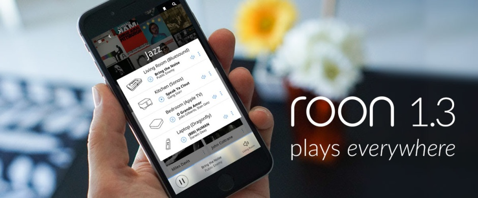 Roon Labs release major update with version 1.3