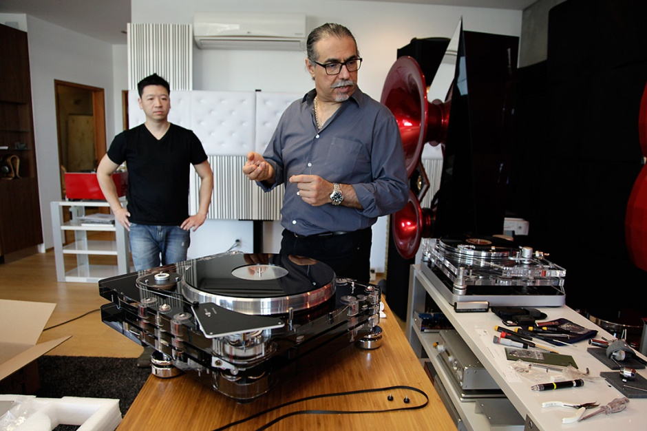 Video: Interview with turntable legend Touraj Moghaddam of Vertere Acoustics
