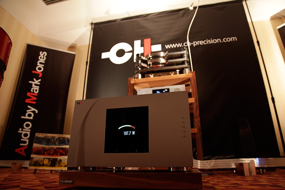 CH Precision at Montreal Audio Fest:  Video with Raphael Pasche
