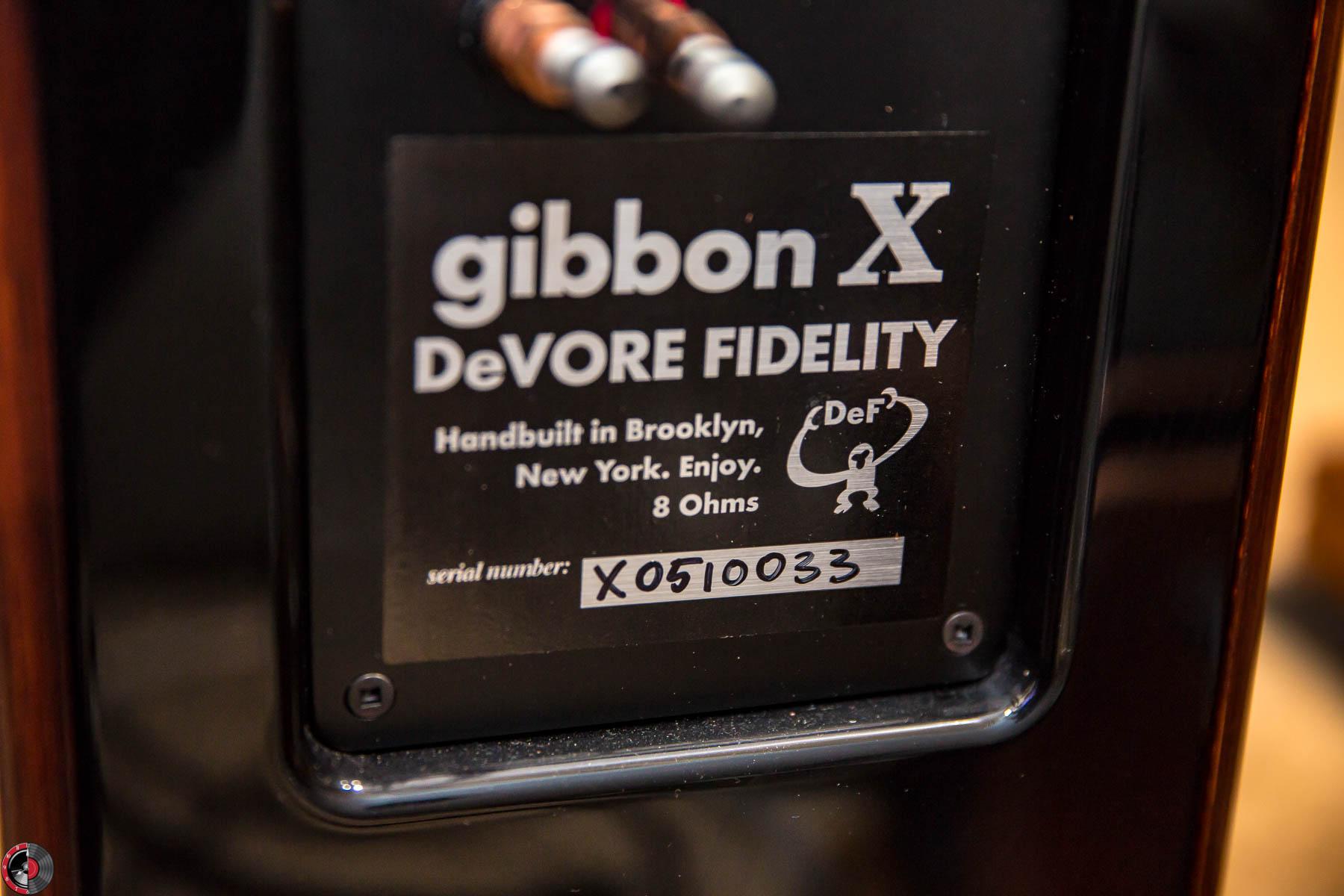 Review: DeVore Fidelity Gibbon X