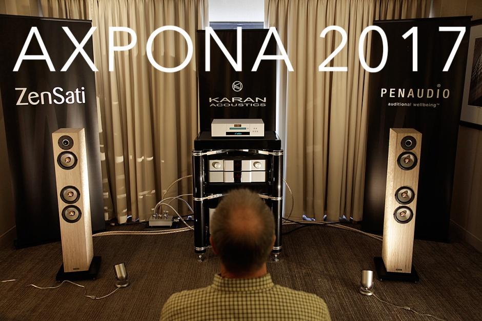 AXPONA 2017: Karan Acoustics, Goldmund, Penaudio, Zensati and a parlour trick