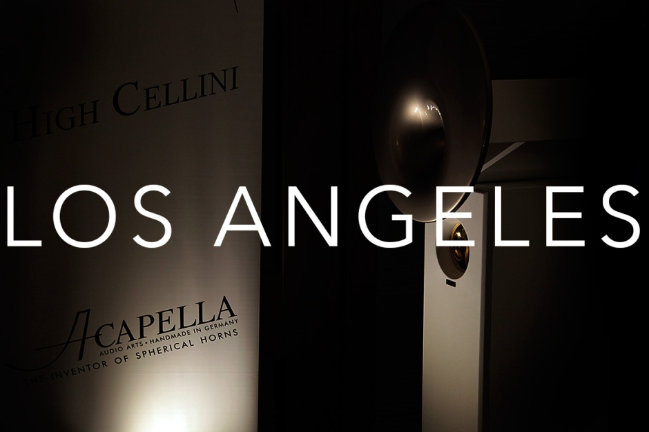 La Audio Show 2017: Acapella Cellini sings with Audio Note UK at Audio Federation