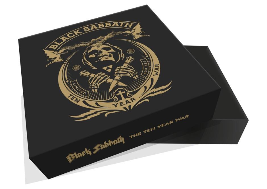 Black Sabbath announce The Ten Year War: Limited Edition Vinyl Box Set with MQA high-res