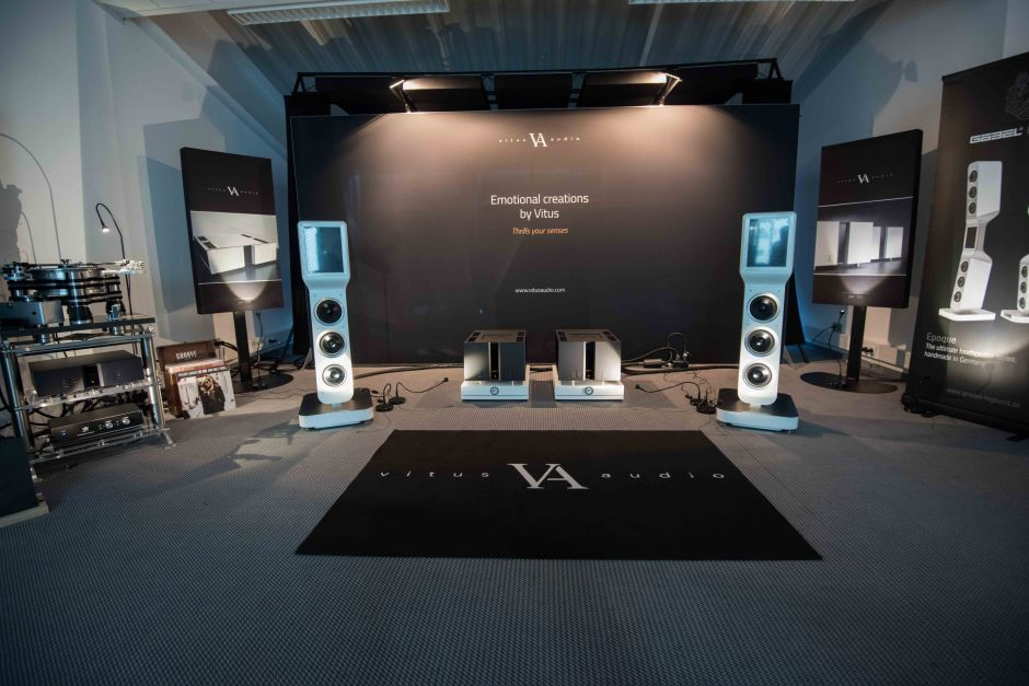 High End 2017: Vitus comes to life with reels and records