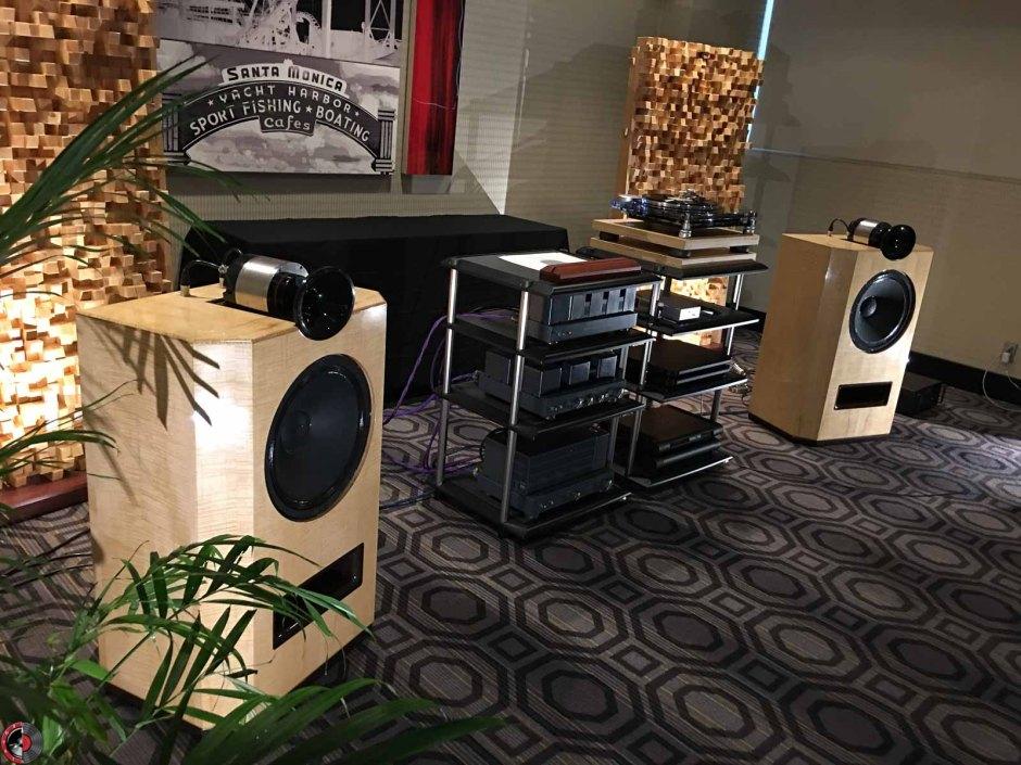 LA Audio Show 2017: Natural Sound tweaks already-stunning loudspeakers