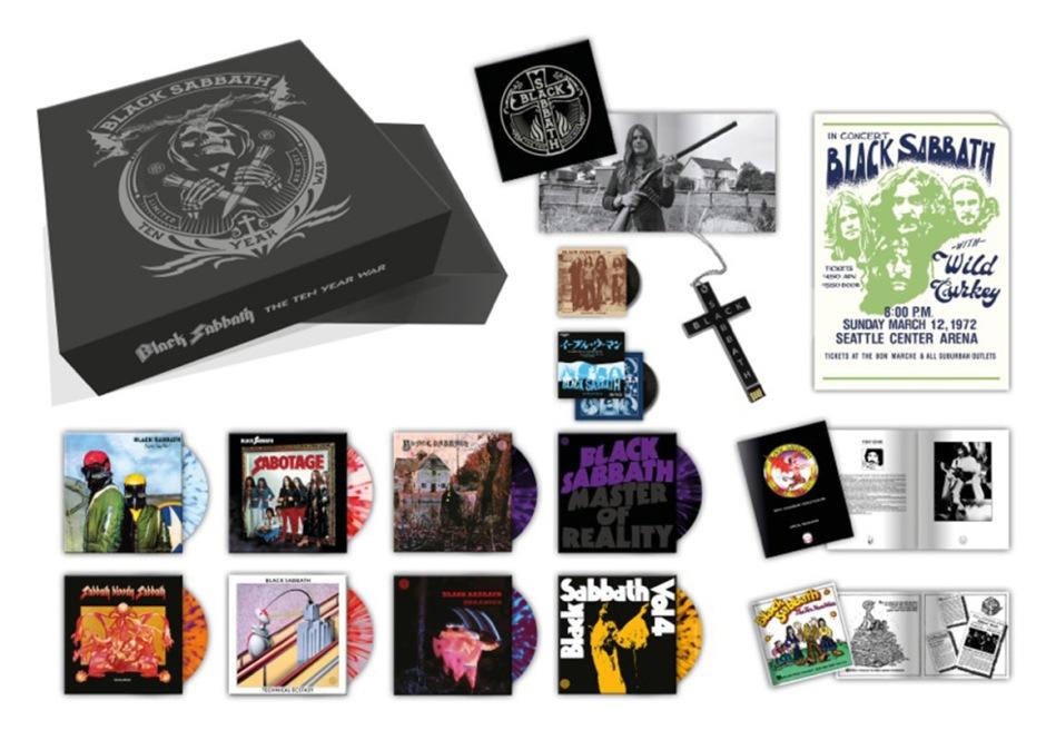 Part Time Audiophile Black Sabbath Announce The Ten Year