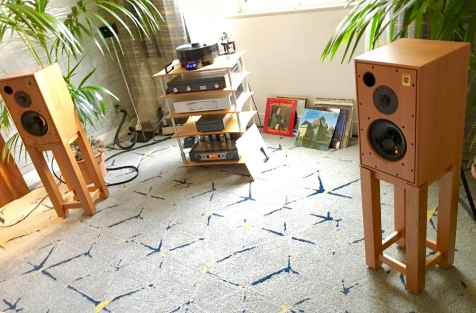 LA Audio Show 2017: Gene Rubin, Harbeth 30.1 make music, magic