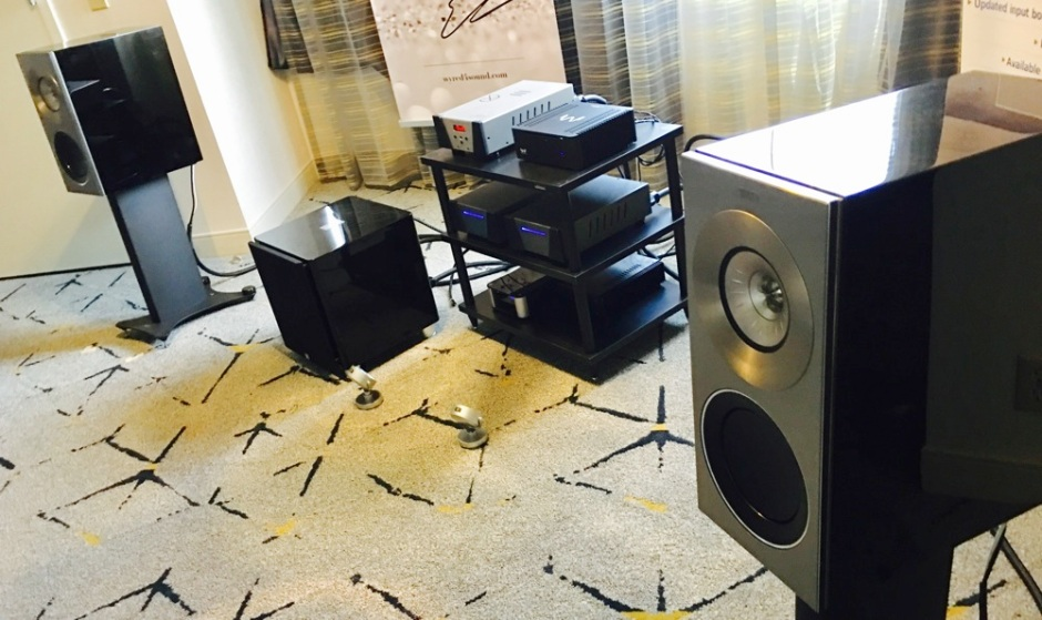LA Audio Show 2017: Wyred 4 Sound, KEF offer attainable sonic bliss
