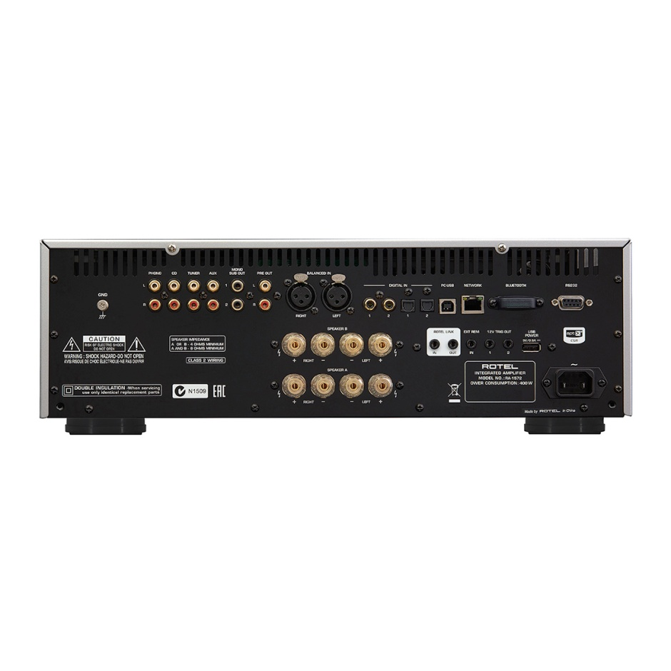 Rotel introduces new integrated amplifier, preamplifier and CD player