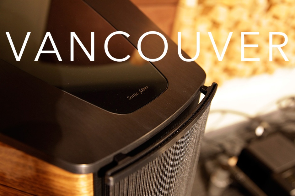 Vancouver Audio Festival 2017: McIntosh, Transparent Cable and Sonus Faber