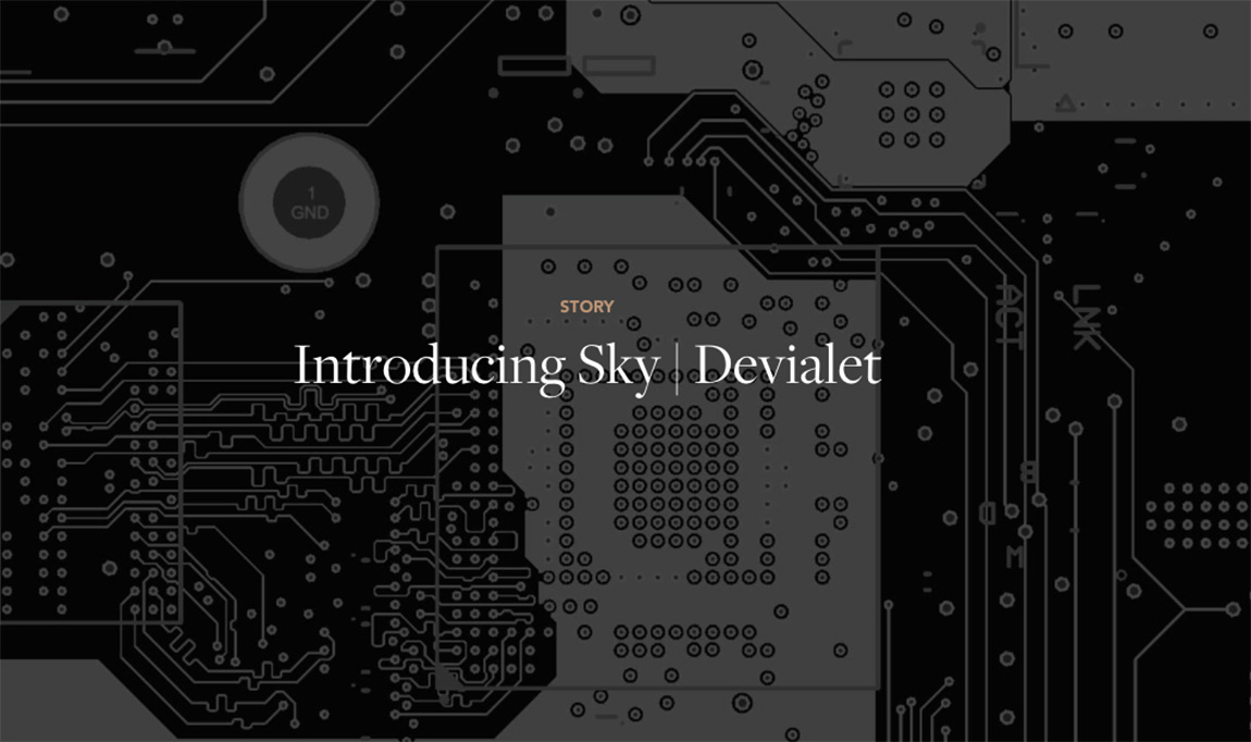 Devialet unveils partnership for TV audio hardware with UK giant Sky